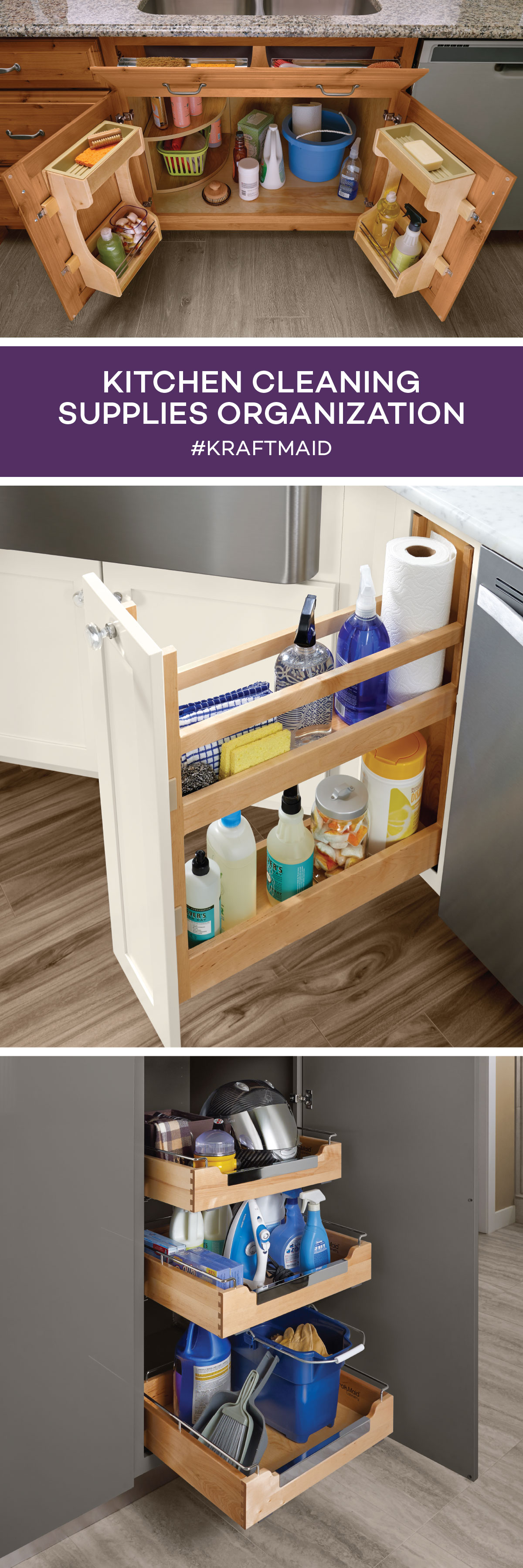 Get easy access to the cleaning supplies you use most in ...