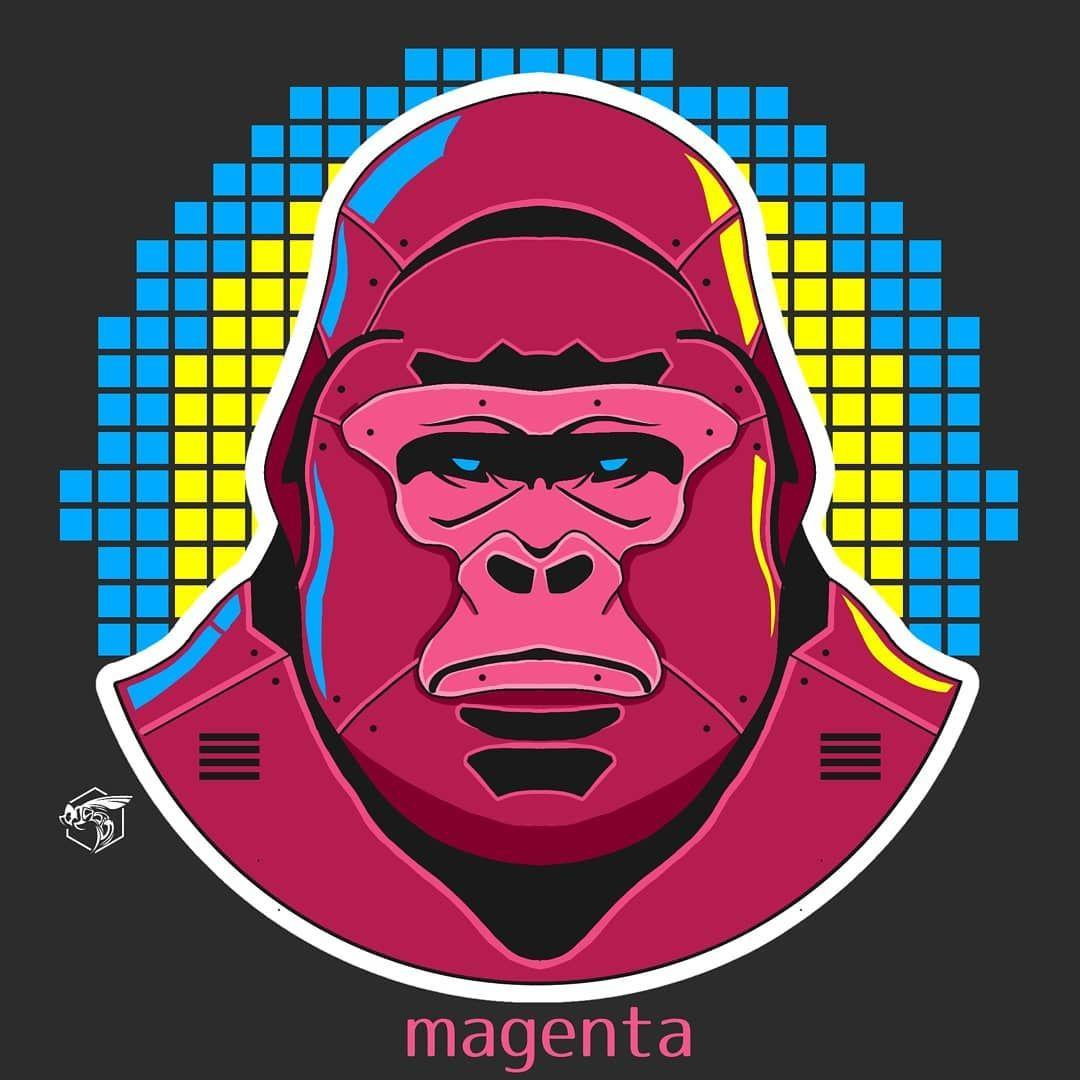 Kong - - - - #jasisart #tshirtdesign #gorontalo #artwork