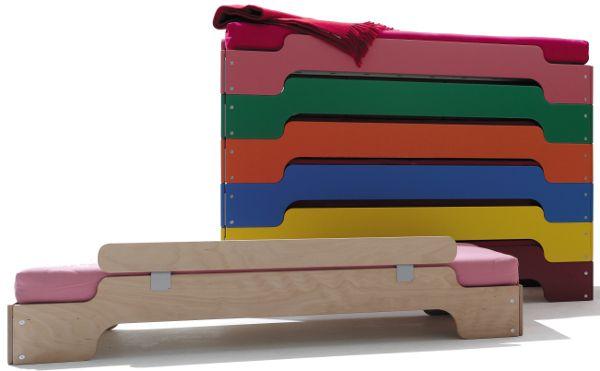 Kinderbett designklassiker  Stapelliege Kinder | Müller möbelwerkstätten, Heide und Kindermöbel