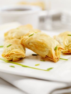 vegan phyllo pockets