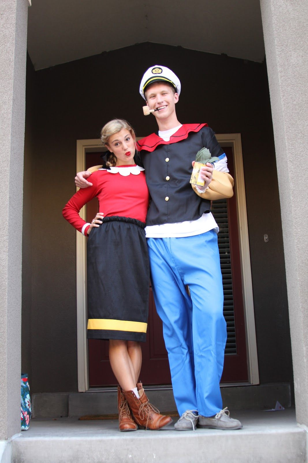 Popeye and Olive Oyl | Halloween Costumes | Pinterest | Costumes ...