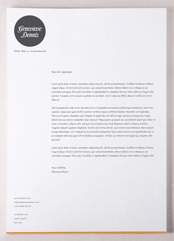 self promotion stationery on behance branding letterhead