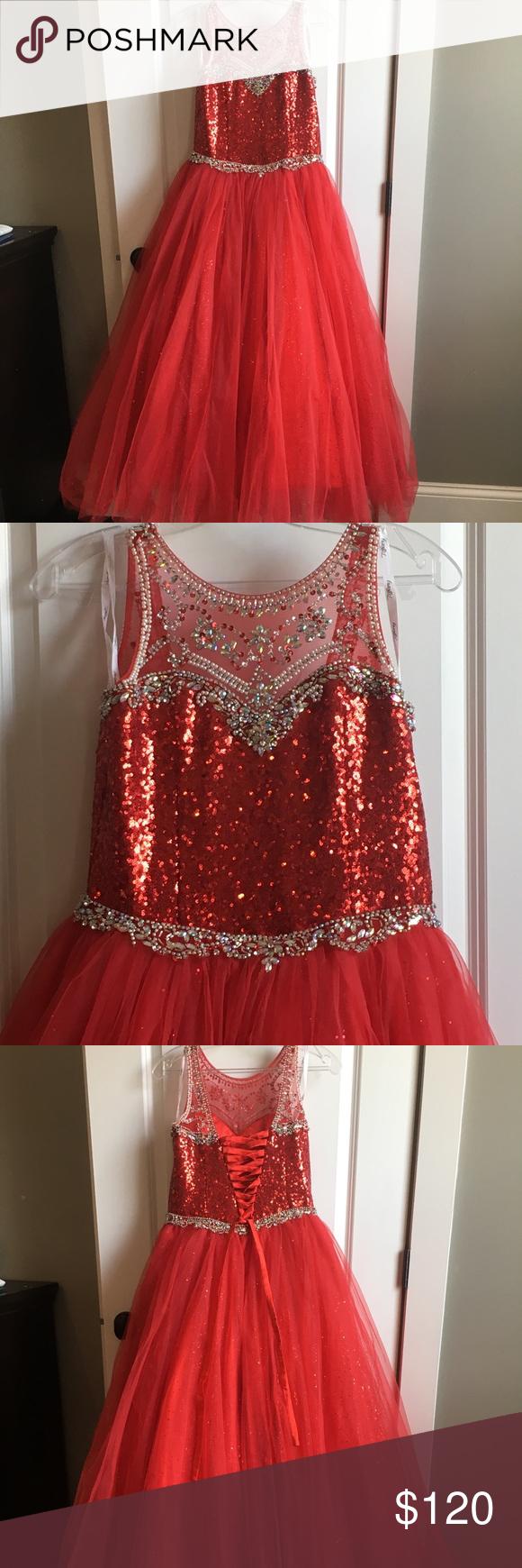 d54632fea78c Tiffany Princess Girl s Sz 12 Formal Dress Tiffany Princess girl s size 12  formal dress. Unaltered
