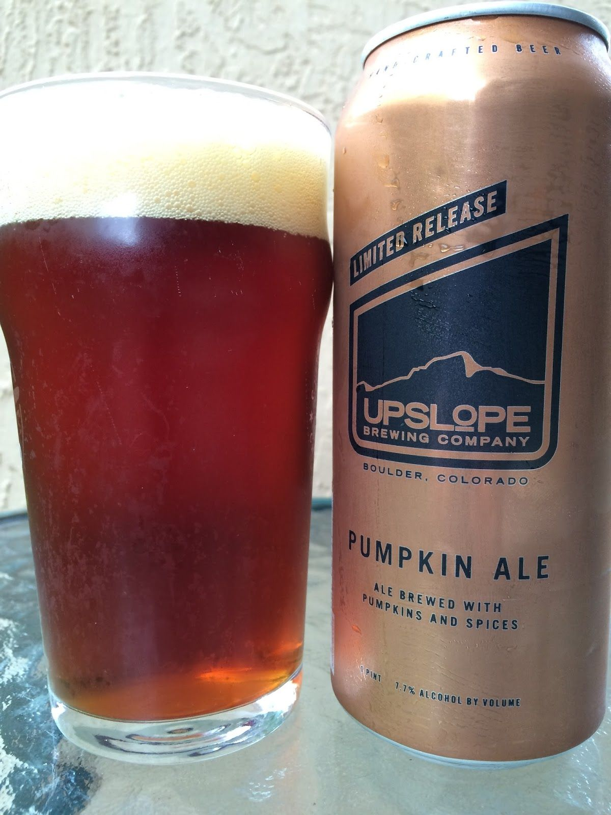 Beer Specials Daily Beer Review Upslope Pumpkin Ale Spirits Pinterest