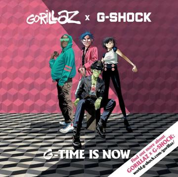Intergalactic Shock Casio Collaborates With Gorillaz To Bring Back A Classic Gorillaz Photo Apps Shock