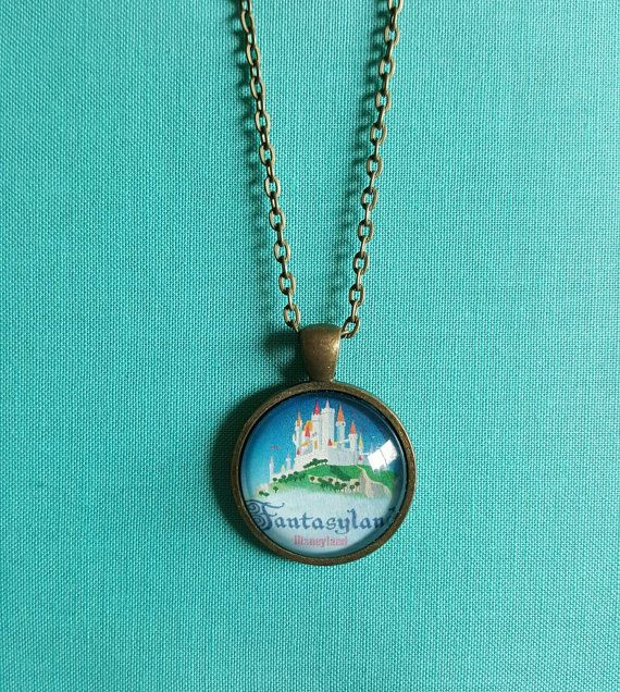 Fantasyland necklace by DarlinBowsnThings on Etsy