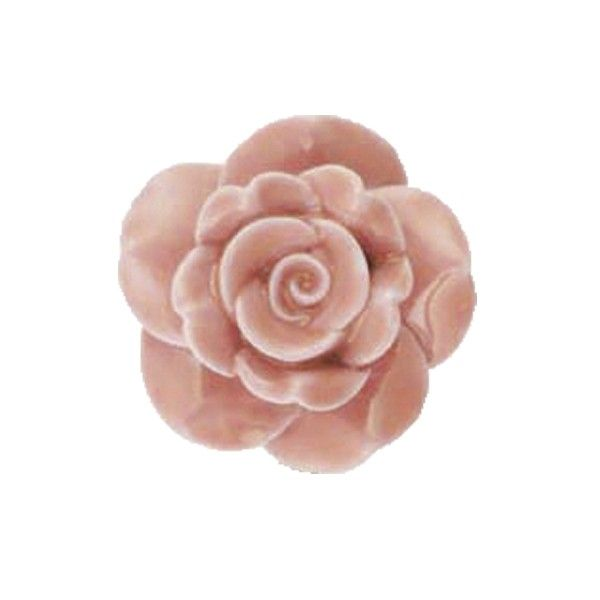 Vintage Rose Ceramic Door Knobs   door knobs   Pinterest   Ceramic ...