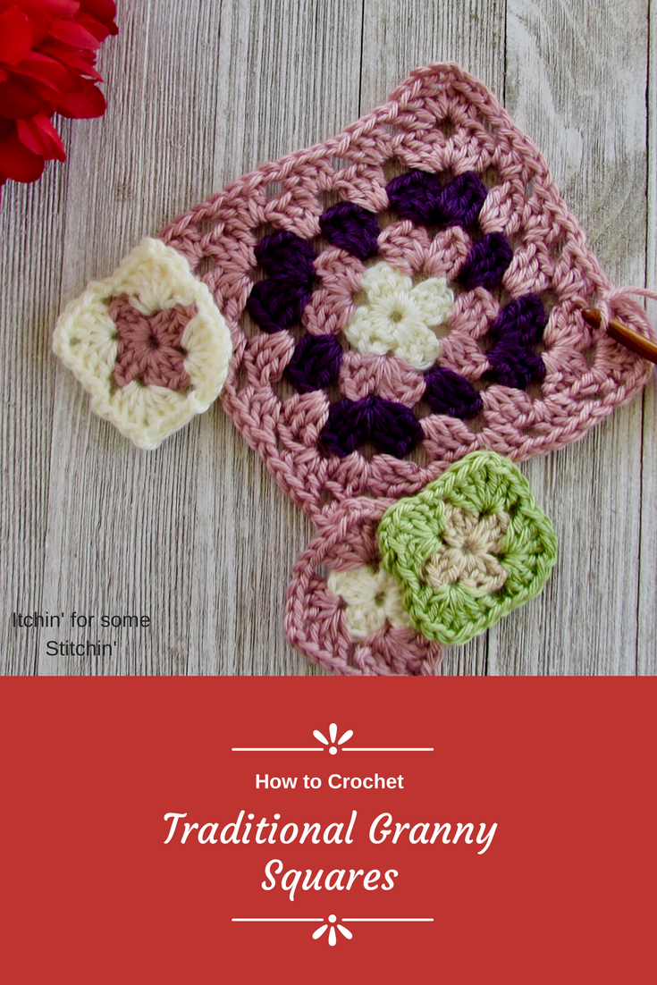 Basic Granny Square Pattern Learn How To Crochet The Classic
