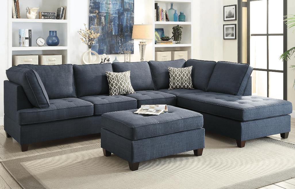 Branksome Chaise Sofa In Marine Blue Interiores De Casas Pequenas Muebles Sala Interiores De Casa