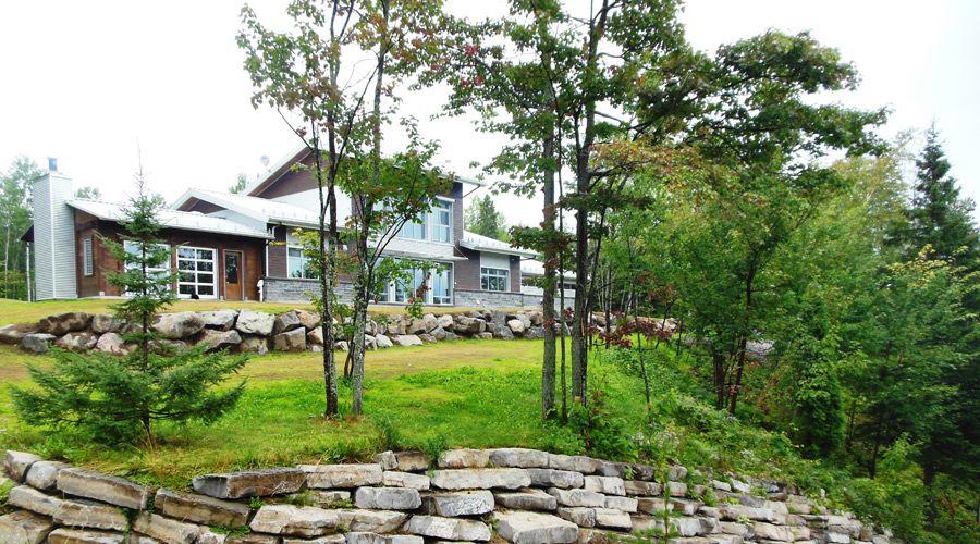 La maison Kenogami, un miracle d\u0027efficacité énergétique en climat - prix de construction maison