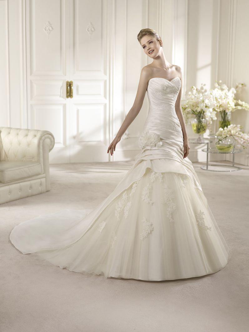 San Patrick 2013 Bridal Range Dress Alicia Available At Delavida Co Za Wedding Dresses Wedding Dresses 2014 Tulle Wedding Dress