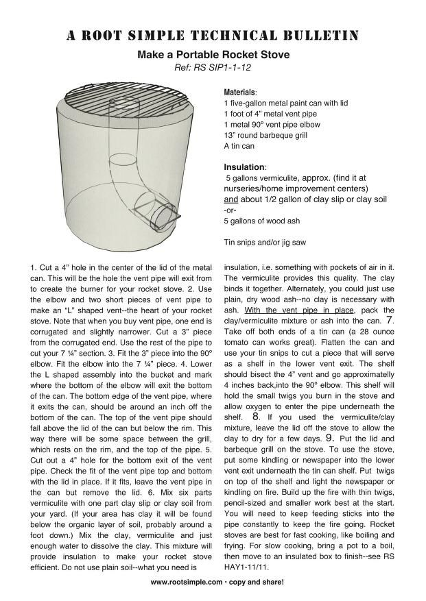 The 12 00 Rocket Stove A Bit Of Functional Creativity Rocket Stoves Stove Build A Rocket