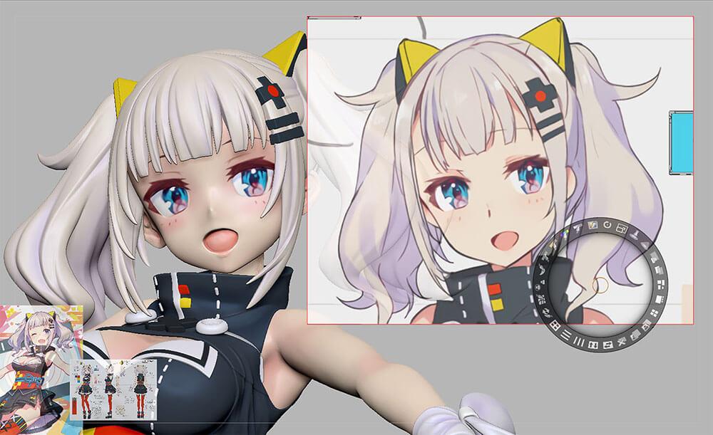 頭部 フィギュア 形状 アニメ google 検索 アニメ デザイン