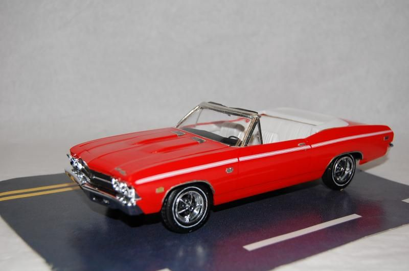 AMT '69 Chevelle Convertible *PICS* - Muscle Cars - Modeling Subjects - Scale Auto Community