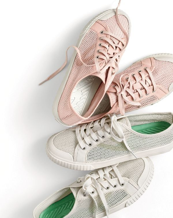 Tournament Net for J.Crew sneakers