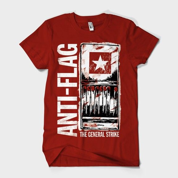 Anti Flag Red Matchbook T Shirt Wearing It Right Now T Shirt Shirts Anti Flag