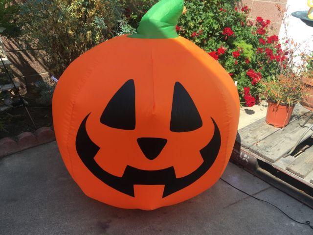 Inflatable Jack O Lantern Costume