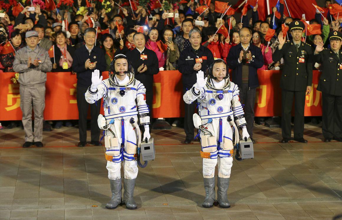 China's Secretive Space Program Threatens NASA's Dominance.(November 28th 2016)