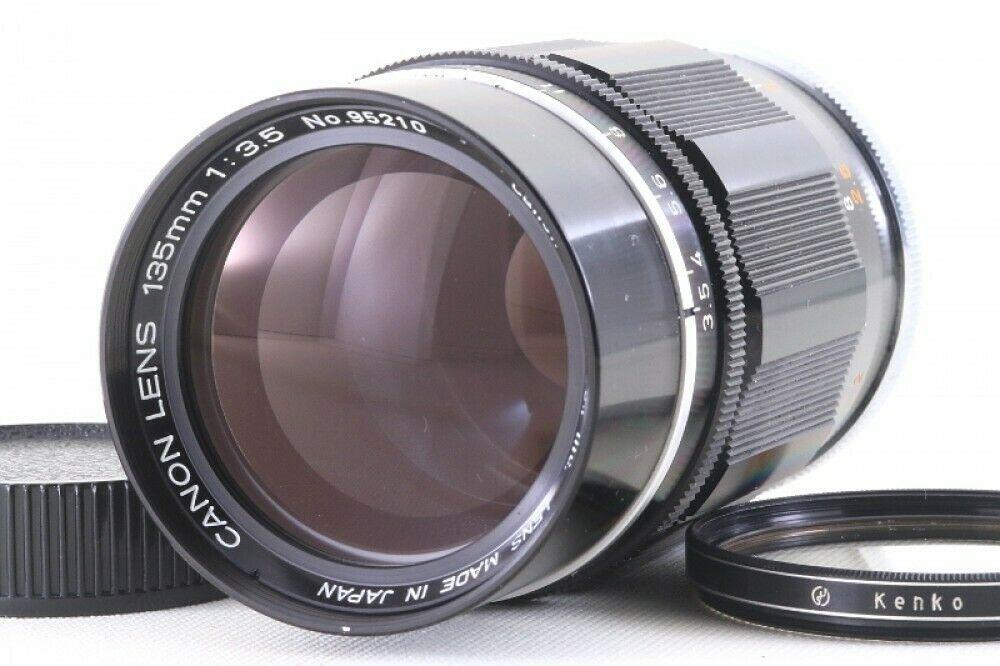 Canon 135mm F 3 5 Lens Leica Screw Mount Ltm Ltm39 From Japan 95210 Exc Ebay Leica Lens Canon
