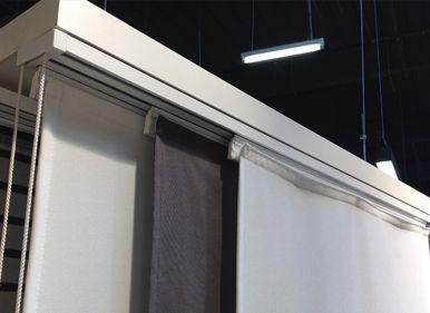 nos rails pour panneaux japonais permettent une fixation facile et rapide nos rails suadaptent. Black Bedroom Furniture Sets. Home Design Ideas