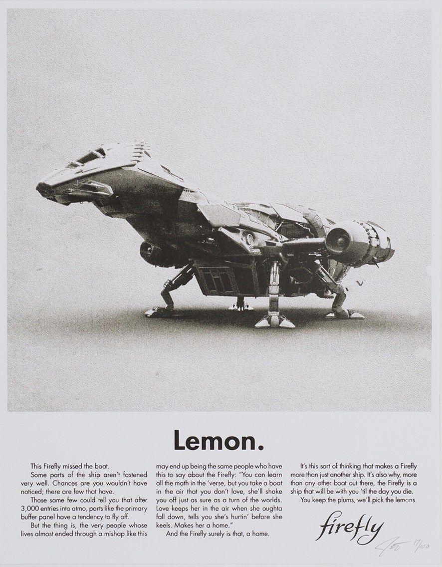 Lemon - Firefly | Poster Prints/Wall Decor | Firefly ...