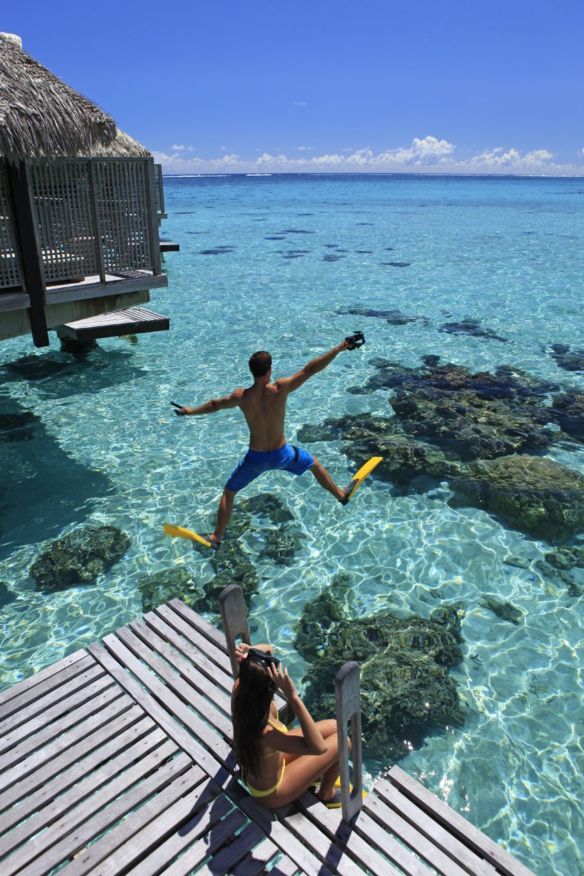 Hilton Moorea Lagoon Resort And Spa Resort Spa Honeymoon