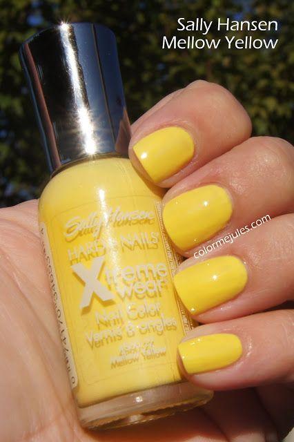 Sally Hansen Mellow Yellow Original Formula