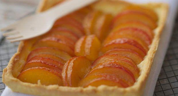 Tarte aux prunesVoir la recette de la Tarte aux prunes >>