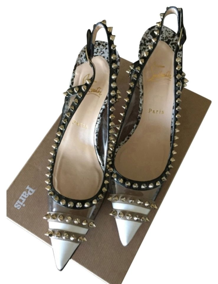 Christian Louboutin Manovra PVC Pumps. Get the must-have pumps of this season! These Christian Louboutin Manovra PVC Pumps are a top 10 member favorite on Tradesy. Save on yours before they're sold out!