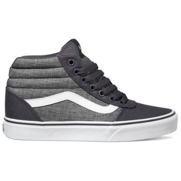 11a9a8e96d Vans Ward Hi Rock Textile Shoes ( 65) ❤ liked on Polyvore featuring shoes