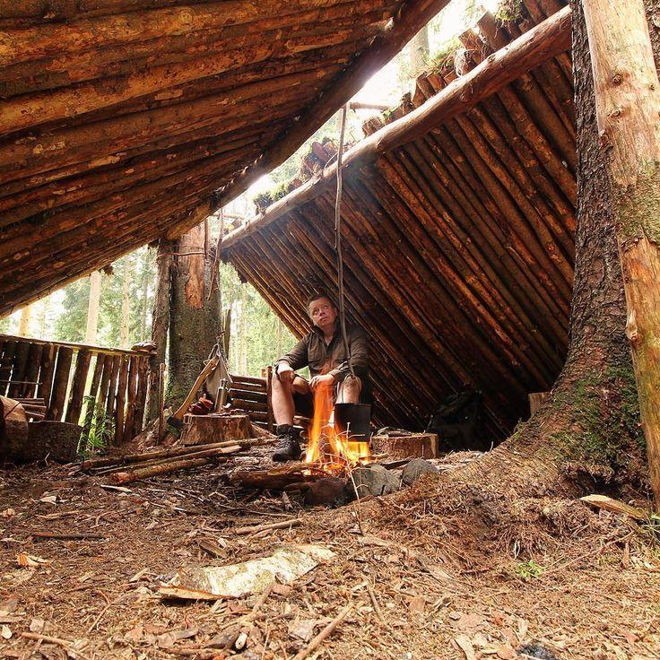 Camping Survival Skills: Bushcraft Shelter