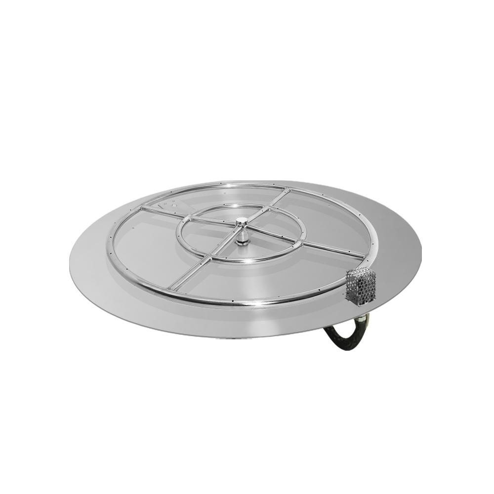 Starfire Designs Round Fire Pit Burner Kit Aweis Ignition Fire