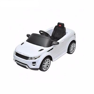 Kids Land Rover Evoque 6V Battery Powered Ride On Car MP3 Remote Control White