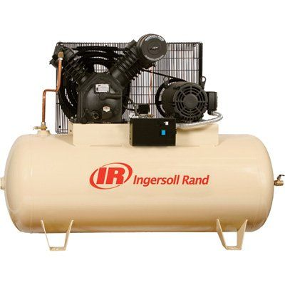 Ingersoll Rand Type 30 Reciprocating Air Compressor 15 Hp 230 Volt 3 Phase Model 710 Electric Air Compressor Reciprocating Air Compressor Air Compressor
