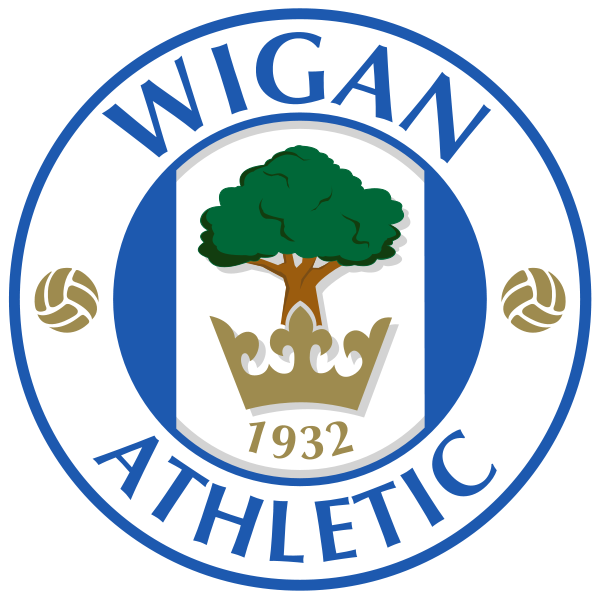 file wigan athletic svg wikipedia the free encyclopedia wigan athletic wigan football logo pinterest