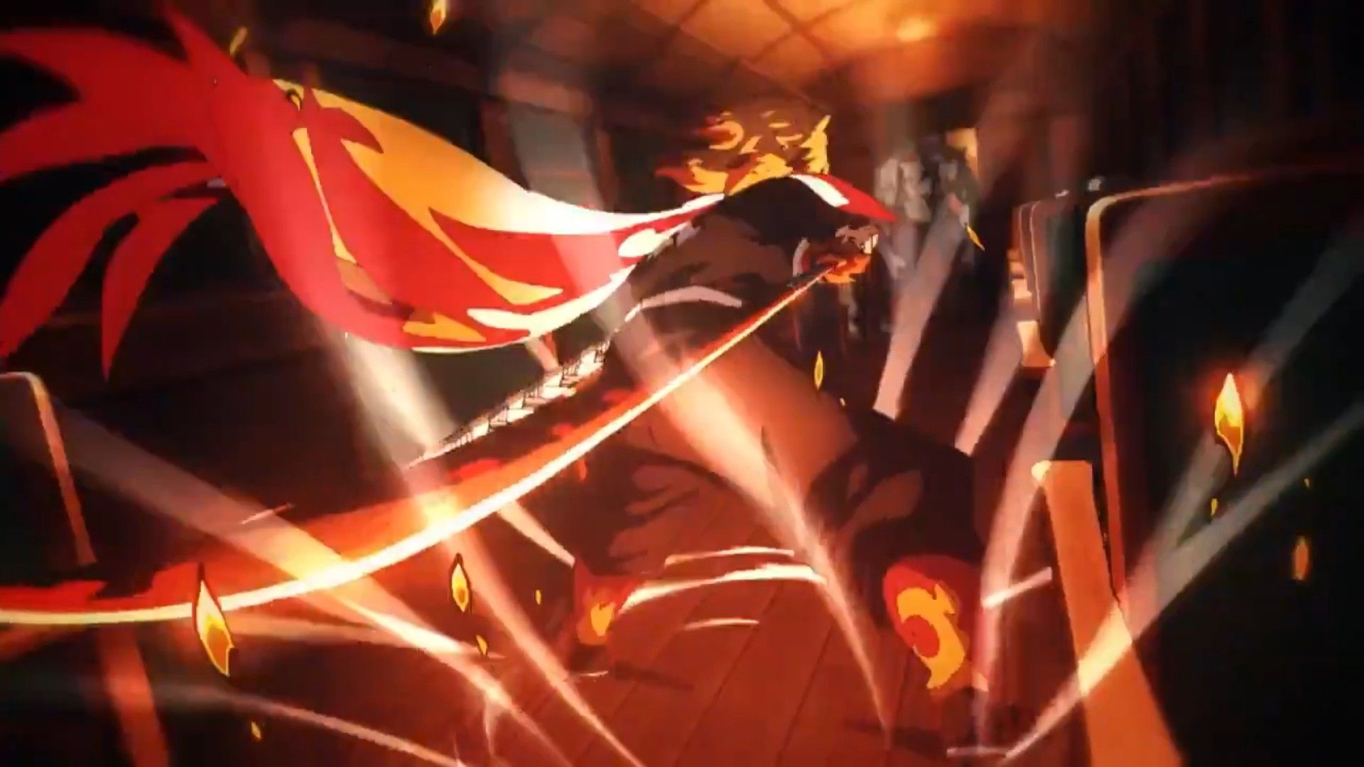 Rengoku Kyoujurou Kimetsu No Yaiba Mugen Ressha Hen Setan Film Lagu