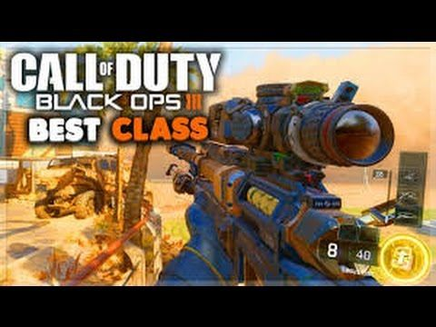 Call Of Duty Black Ops 3 Sniper Class Setup With Live Gameplay