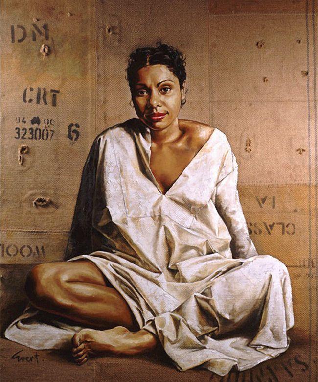 """""""Deborah Mailman"""" Evert Ploeg, Archibald Prize Winner"""
