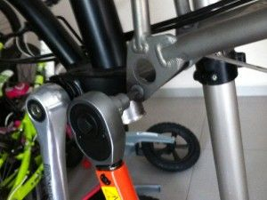 brompton rear frame replacement recreation outdoors and sports