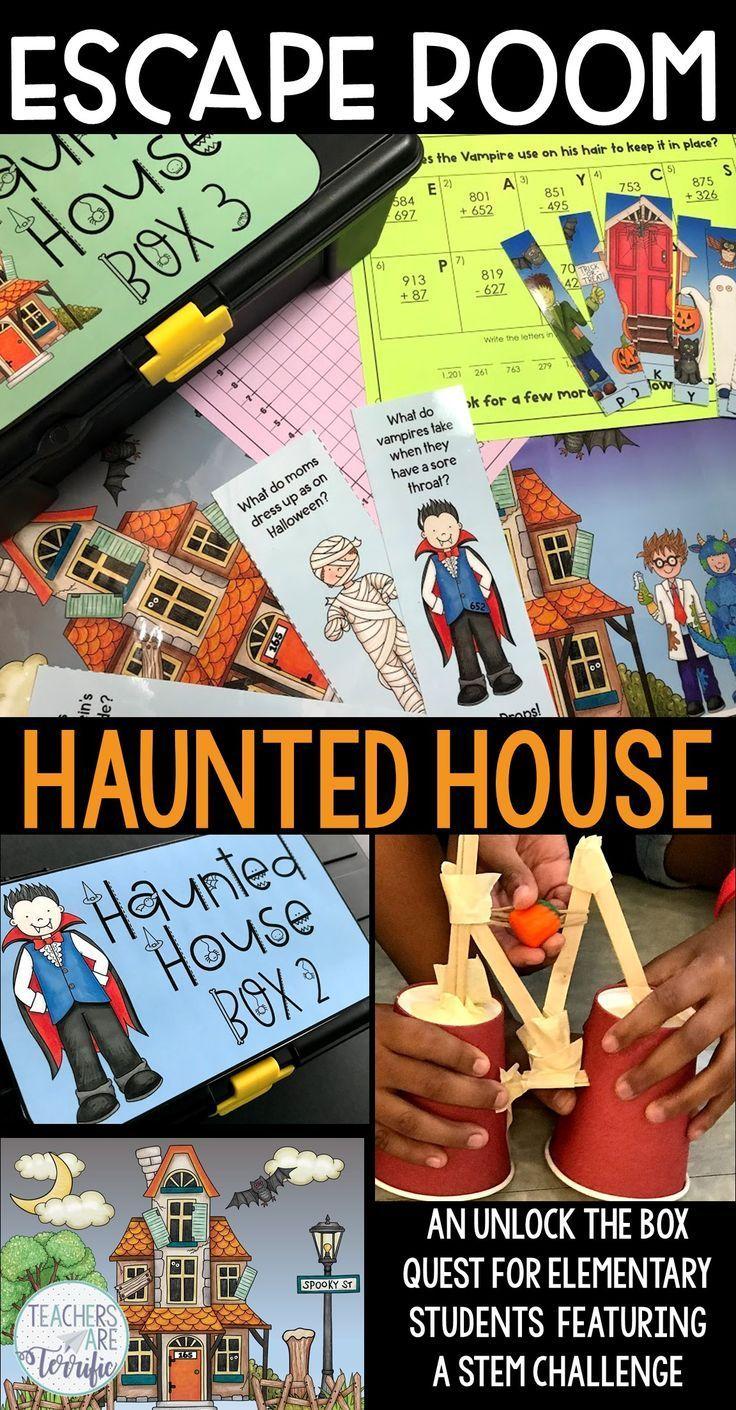 Halloween Escape Room and STEM Challenge Halloween stem