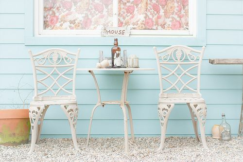 I absolutely love this bistro set.