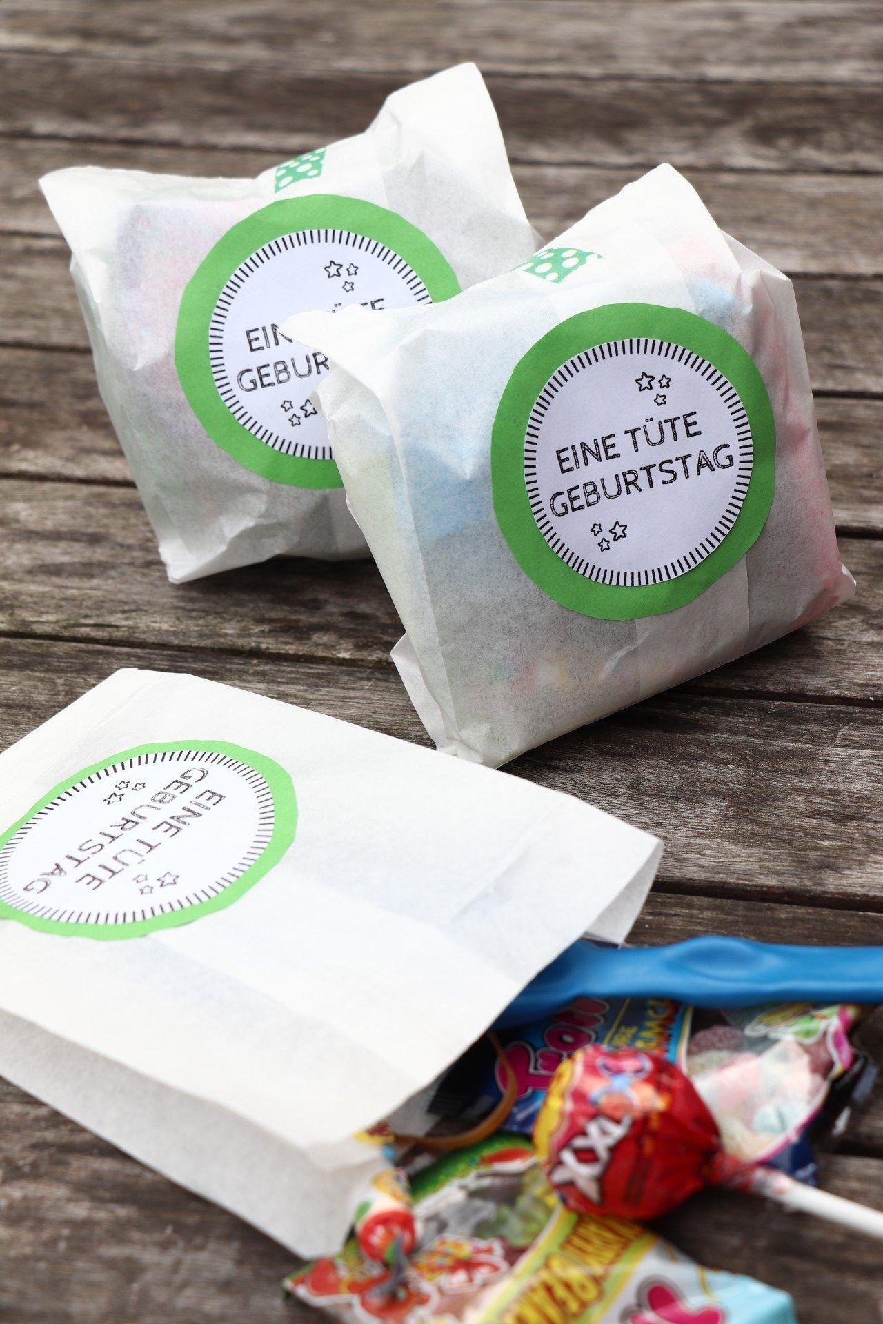 DIY: Basteln von Kindergeburtstagstaschen inkl. 38 Ideen für den Füll – Lavendel – Blog   – Kindergeburtstag