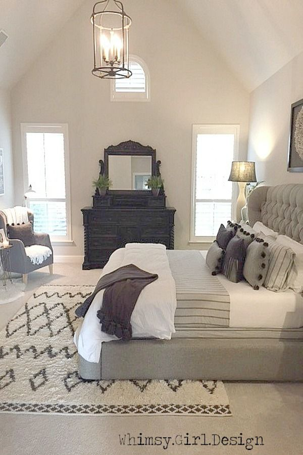 Using Items That Bring In Texture Is A Great Way To Add Interest To Best How To Put Throw Blanket On Bed