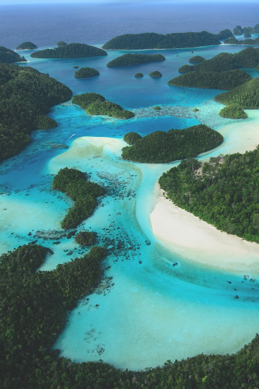Wayag Island Group by Mike Veitch