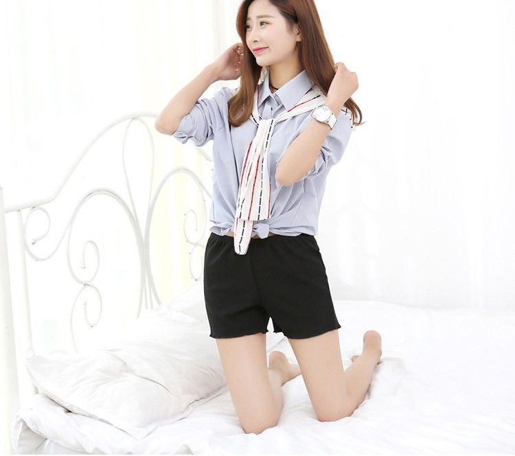 summer Ruffles safety short pants women's underwear Chiffon shorts pants boxer shorty femme s...