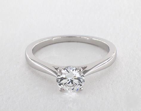 Jeff Cooper Designer Engagement Ring white gold Setting