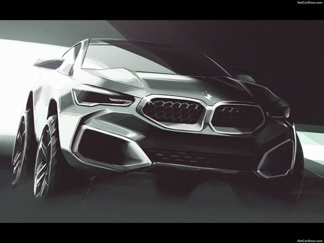 Hot Road News On Instagram New Bmw X6 M50i 2020 Official Sketches By Bmw Bmw X6 New Bmw Bmw