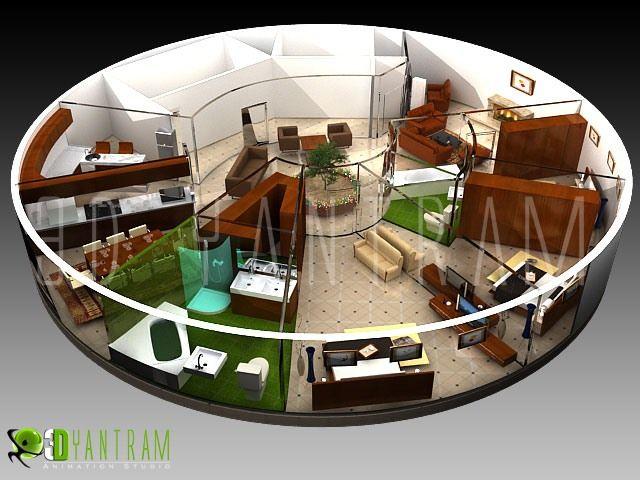 3d floor plan | interactive 3d floor plans design | virtual tour