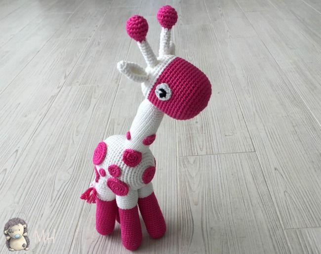 Jirafa amigurumi bicolor   Patrones crochet en español   Pinterest ...