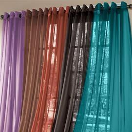 BrylaneHome® Studio Sheer Voile Grommet Panels | Curtains U0026 Drapes |  Brylanehome